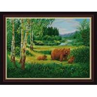 Конёк НИК 1233 Пейзаж с медведями