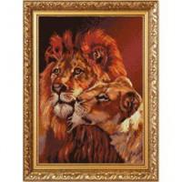 Конёк НИК 1251 Пара львов