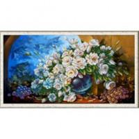 Конёк НИК 1252 Букет из белых роз