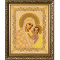 Конёк НИК7113  Богородица Казанская. Рисунок на ткани