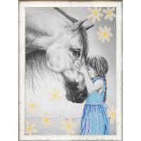 Конёк 8410 Девочка и лошадь