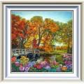 Конёк НИК 8411 Осенние краски. Рисунок на ткани