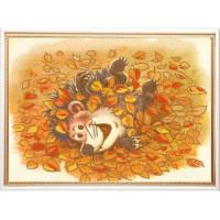 Конёк НИК 8412 Осенняя радость. Рисунок на ткани