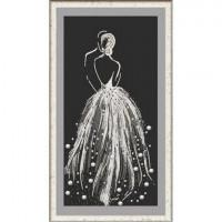 Конёк 8504 Рисунок на ткани «Конёк» 8504 Бриллиантовая россыпь 25х45 см