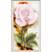 Конёк 9488 Рисунок на ткани «Конёк» 9488 Нежная роза, 25х45 см