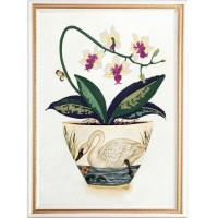 Конёк НИК 9495 Цветы и птицы 1. Схема для вышивания бисером