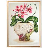 Конёк НИК 9497 Цветы и птицы 3. Схема для вышивания бисером