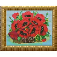 Конёк 9504 Рисунок на ткани «Конёк» 9504 Маки, 23х30 см
