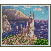 Конёк 9798 Рисунок на ткани «Конёк» 9798 Ласточкино гнездо, 29х39 см