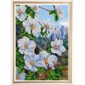 Конёк НИК 9963 Экзотические цветы 2. Рисунок на ткани