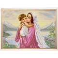 Конёк НИК 9969 Мать и дитя. Рисунок на ткани