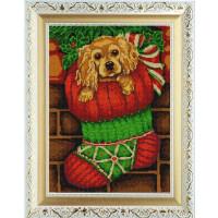 Конёк НИК 9976 Рождественский подарок. Рисунок на ткани