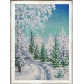 Конёк НИК 9983 Зачарованный лес. Рисунок на ткани