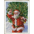 Конёк НИК 9988 Санта. Рисунок на ткани