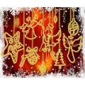 Конёк НИК8104 С Рождеством! Схема для вышивания бисером