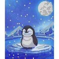 Конёк НИК 8111 Пингвин. Схема для вышивания бисером