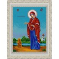 Конёк НИК9258 Богородица Геронтисса. Схема для вышивания бисером