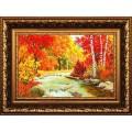 Конёк НИК9470 Золотая осень. Схема для вышивания бисером