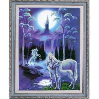 Конёк НИК9864 Лунная ночь. Схема для вышивания бисером
