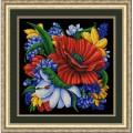 Конёк НИК9879 Цветы. Схема для вышивания бисером