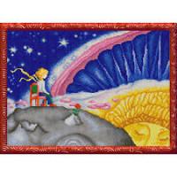 Конёк НИК9895 Маленький принц. Схема для вышивания бисером