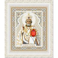 Конёк НИК 7106 Рисунок на ткани «Конёк» 7106 Св. Николай Чудотворец, 20х25 см