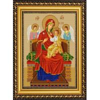 Конёк Схема для вышивания бисером НИК 9219 Богородица Всецарица (Пантанасса) Рисунок на ткани «Конёк» 9219 Богородица Всецарица (Пантанасса), 29х39 см