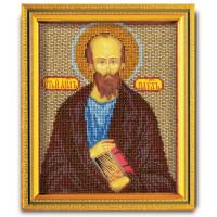 Кроше (Радуга бисера) N0001794 В-333 Набор для вышивания бисером Кроше 'Св. Апостол Павел', 14,5x12см