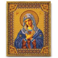 Кроше (Радуга бисера) Набор для вышивания «Кроше» В-153 Богородица Умиление Набор для вышивания «Радуга бисера» В-153 Богородица Умиление