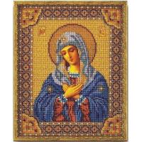 Кроше (Радуга бисера) В-153 Богородица Умиление