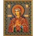 Кроше (Радуга бисера) В-154 Богородица Умягчение Злых Сердец