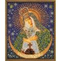 Кроше (Радуга бисера) В-161 Острабрамская Богородица