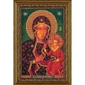 Кроше (Радуга бисера) В-194 Богородица Ченстоховская