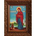 Кроше (Радуга бисера) В-196  Богородица Геронтисса