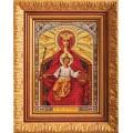 Кроше (Радуга бисера) В-199  Богородица державная