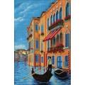 Кроше (Радуга бисера) В-268 Гранд-канал. Венеция