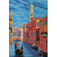 Кроше (Радуга бисера) В-269 Колокольня Сан-Марко. Венеция