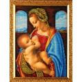 Кроше (Радуга бисера) В-422 Мадонна Литта