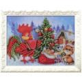 Кроше (Радуга бисера) В-525 Новогодняя ёлочка