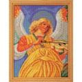 Кроше (Радуга бисера) В-602 Музицирующий ангел. Секондо