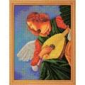 Кроше (Радуга бисера) В-603 Музицирующий ангел. Терцо