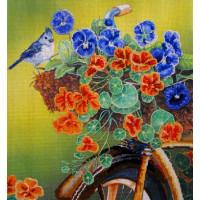 "Kustom Krafts 063 Набор для вышивания Kustom Krafts NNT-063"" Старенький велосипед""р-р 26х28,6 см"