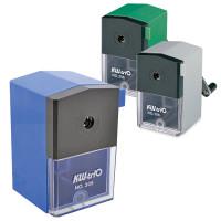 KW-TRIO -305A Точилка механическая KW-trio, металлический механизм, пластиковый корпус, ассорти (синяя, зеленая, серая), 305A, -305A