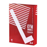 KYM LUX  Бумага офисная KYM LUX PREMIUM, А4, 80 г/м2, 500 л., марка А, Финляндия, белизна 170%