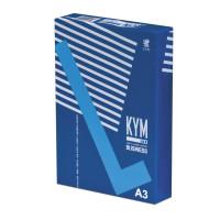 KYM LUX  Бумага офисная KYM LUX BUSINESS, БОЛЬШОГО ФОРМАТА (297х420 мм), А3, 80 г/м2, 500 л., марка В, белизна 164%