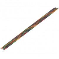 Lana Grossa 2.50 длина 20 см. Спицы чулочные, дерево Multicolor, длина 20 см, 2.50 длина 20 см.