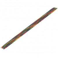 Lana Grossa 2.75 длина 20 см. Спицы чулочные, дерево Multicolor, длина 20 см, 2.75 длина 20 см.