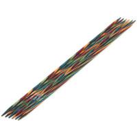 Lana Grossa 3.00 длина 20 см. Спицы чулочные, дерево Multicolor, длина 20 см, 3.00 длина 20 см.