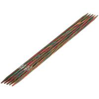 Lana Grossa 3.50 длина 20 см. Спицы чулочные, дерево Multicolor, длина 20 см, 3.50 длина 20 см.