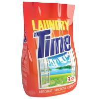 LAUNDRY TIME  Стиральный порошок-автомат 3 кг, LAUNDRY TIME (Лондри Тайм)